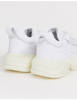 Adidas Originals Supercourt 90's Sneaker In White by Adidas