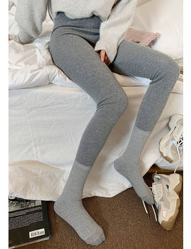 Stay In Winter Soft Touch Leggings by Chuu