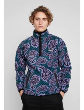Eisley Mock Zip   Fleece Jacket by Obey Clothing