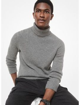 Cashmere Turtleneck by Michael Kors Mens