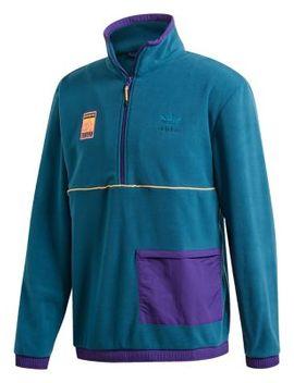 Half Zip Polar Fleece Top by Adidas Originals