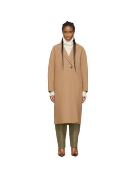 Tan Dire Coat by Sportmax