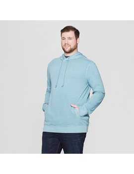 Men's Big & Tall French Terry Pull Over Hoodie   Goodfellow & Co™ by Goodfellow & Co