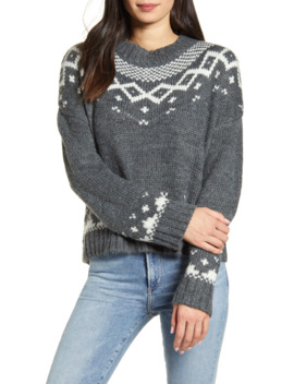 Jasmine Fair Isle Pullover by Cupcakes And Cashmere