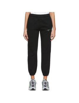 Black & White Logo Lounge Pants by Off White