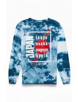 Pac Sun Tokyo Tie Dyed Long Sleeve T Shirt by Pacsun