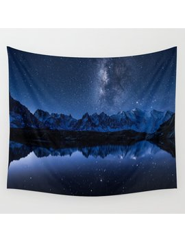 Night Mountains Wall Tapestry by Society6