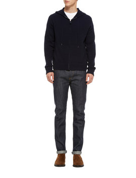 Wool And Cashmere Blend Hoodie by Ralph Lauren