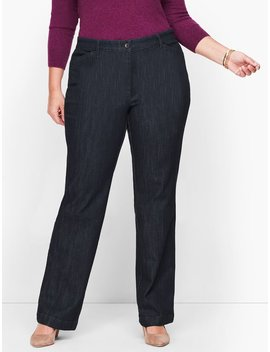 Wide Leg Jeans   Rivington Wash by Talbots