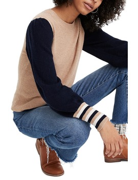 Colorblock Baybrook Pullover Sweater by Madewell