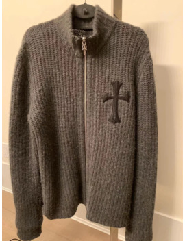 Chrome Hearts Cashmere Jacket by Chrome Hearts  ×
