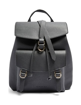 Brit Faux Leather Backpack by Topshop