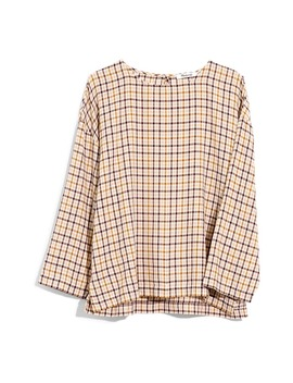 Houndstooth Boxy Tee Top by Madewell