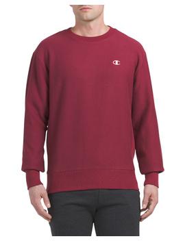 Reverse Weave Crew Neck Sweatshirt by Tj Maxx