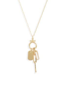 Parker Charm Necklace by Gorjana