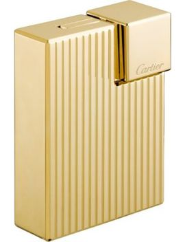Godrons Decor Square Lighter by Cartier