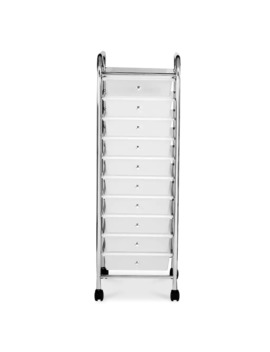 Clear 10 Drawer Rolling Organizer By Recollections™ by Recollections