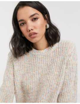 Only Knitted Jumper In Beige by Only's