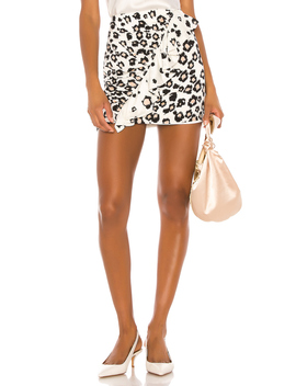 Danielle Print Mini Skirt by Karina Grimaldi