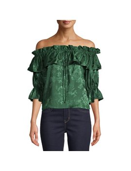 Love Sadie Women's Off The Shoulder Top by Love Sadie