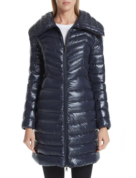 Faucon Quilted Down Coat by Moncler