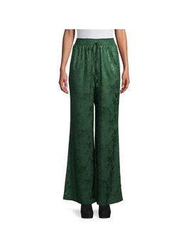 Love Sadie Women's Satin Pants by Love Sadie