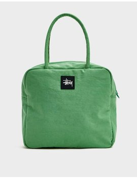 Dreya Bower Bag In Green by Stüssy Stüssy