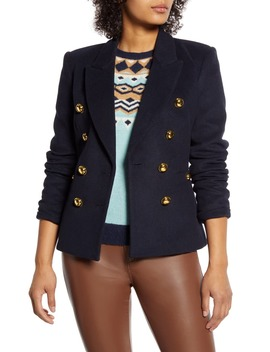 X Atlantic Pacific Double Breasted Blazer by Halogen®