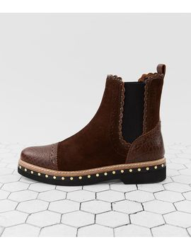 Atlas Suede Chelsea Ankle Boot by Free People