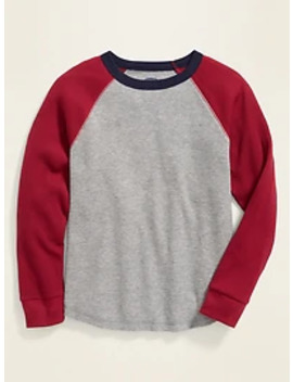 Thermal Raglan Tee For Boys by Old Navy