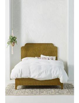 Hand Embossed Lotus Bed by Anthropologie
