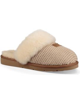 Cozy Knit Genuine Shearling Slipper by Ugg®