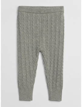 Baby Cable Knit Sweater Leggings by Gap