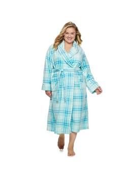 Plus Size Sonoma Goods For Life™ Long Plush Robe by Sonoma Goods For Life