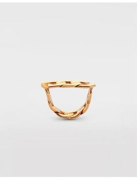 Flat Chain Ring by Maison Margiela