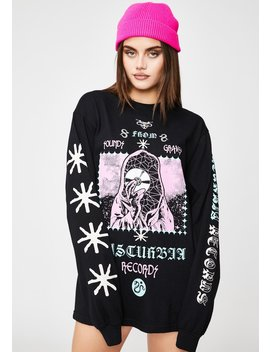 Records Graphic Long Sleeve by Disturbia