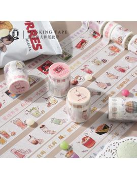 2 Rolls 3 Meters Cardlover Fat House Happy Series Washi Tape   Varied In Width   4 Types   Scrapbook Masking Tape, Adhesive Tape   Ks Rt 061 by Etsy