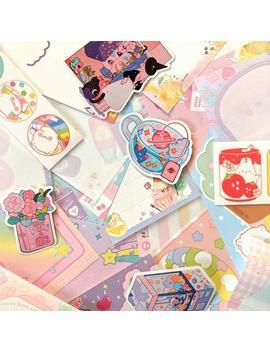 Rainbow Pastel Stationery Set ! by Etsy