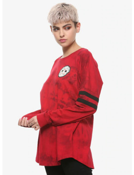 Friday The 13th Jason Voorhees Girls Athletic Jersey by Hot Topic