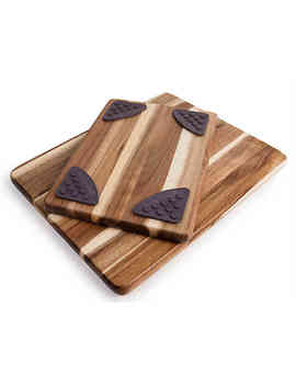 Architec Gripperwood™ Acacia Cutting Boards (Set Of 2) by Bed Bath And Beyond