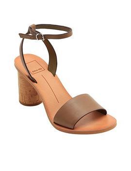 Dolce Vita Jali Block Heel Leather Sandal by Dolce Vita