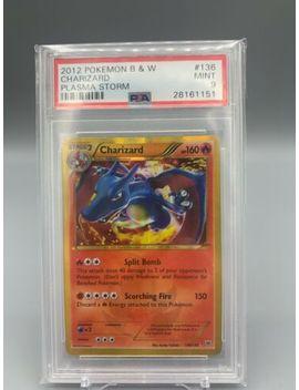 2012 Pokemon Black & White Plasma Storm 136 Charizard Secret Rare Psa 9 Mint by Ebay Seller