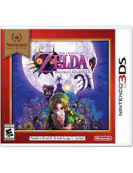 Nintendo 3 Ds by Nintendo Selects: The Legend Of Zelda: Majora's Mask 3 D