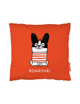 Bonjour Accent Pillow by Ohh Deer