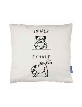 Inhale, Exhale Accent Pillow by Ohh Deer