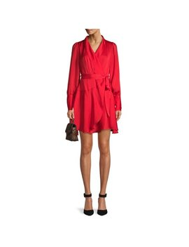 Love Sadie Women's Long Sleeve Wrap Dress by Love Sadie