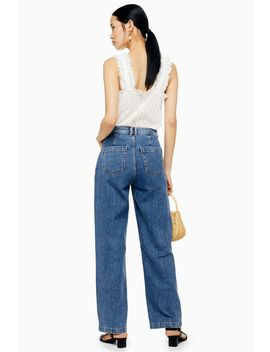 Indigo Parallel Jeans by Topshop