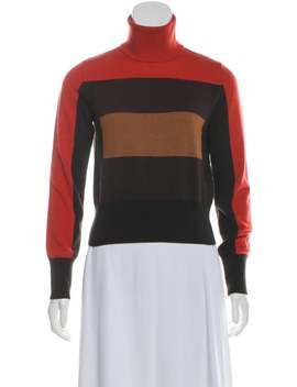 Wool Turtleneck Sweater by Akris Punto