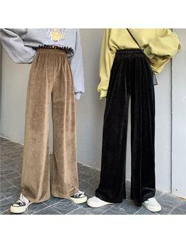 Tanee   Velvet Loose Fit Pants by Tanee