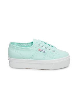 2790 Acotw Light Green Lea by Superga
